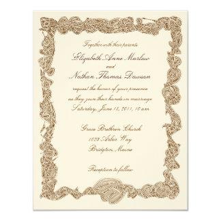 De Uitnodigingen van het huwelijk