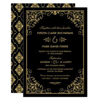De Uitnodigingen van het huwelijk | Stijl van het