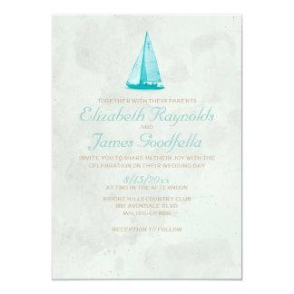 De Uitnodigingen van het Huwelijk van de Boten van