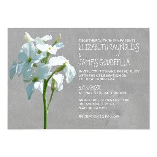 De Uitnodigingen van het Huwelijk van Matthiola