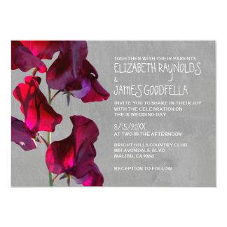De Uitnodigingen van het Huwelijk van Sweetpea