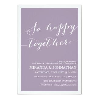 De Uitnodigingen van het Jubileum van het Huwelijk
