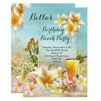 De Uitnodigingen van het strand en van de Partij