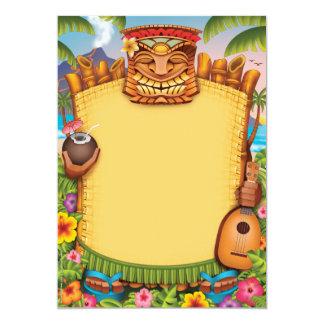 De Uitnodigingen van Luau, de Hawaiiaanse