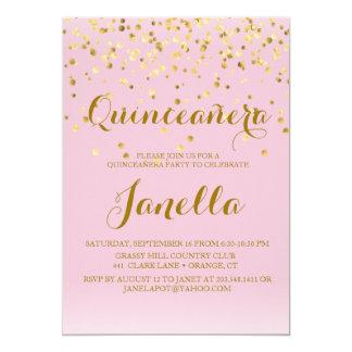 De Uitnodigingen van Quinceañera