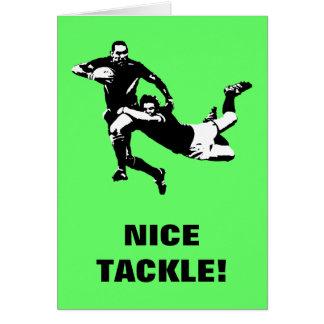 De uitrusting van Nice, Rugby Wenskaart