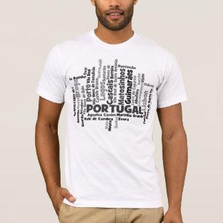 De unieke T-shirt van Portugal