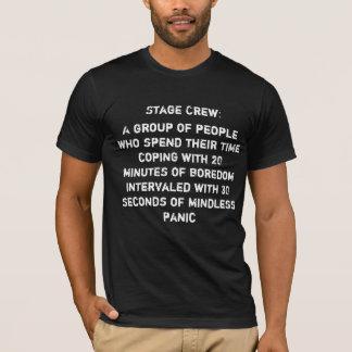De Unisex-T-shirt van de Bemanning van het stadium T Shirt