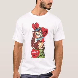 De Unisex-T-shirt van vintage Valentijn - T Shirt