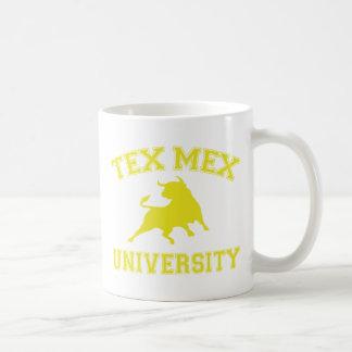 De Universiteit van Tex Mex Basic Witte Mok