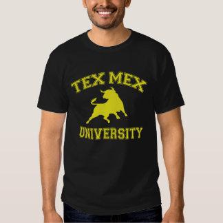 De Universiteit van Tex Mex Shirts