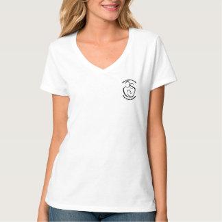 De v-Hals van de dame Familie voor het Leven T Shirt