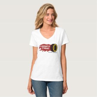 De v-Hals van de Dames van de Taxi van de T Shirt