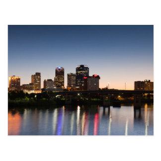 De V.S., Arkansas, Little Rock, de Horizon van de Briefkaart