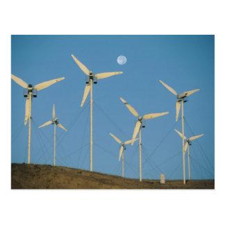 De V.S., Californië, Altamont Pas, windgenerators Briefkaart