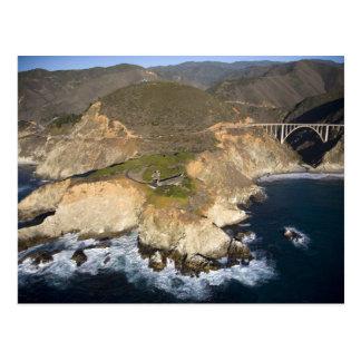 De V.S. Californië. Grote Sur. De Brug van Bixby Briefkaart