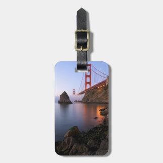 De V.S., Californië, San Francisco. Golden Gate Bagagelabel