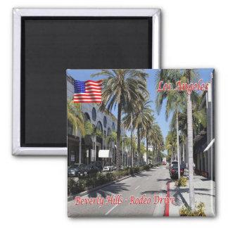 De V.S. de V.S. Los Angeles Beverly Hills Rodeo Vierkante Magneet