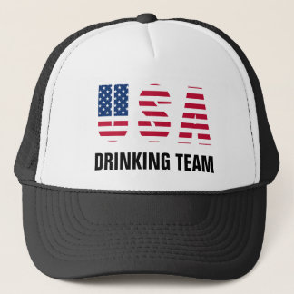 De V.S. die Team drink Trucker Pet