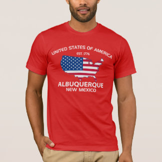 DE V.S. EST. 1776 ALBUQUERQUE New Mexico T Shirt
