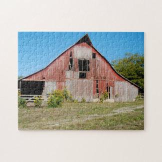 De V.S., Kansas, Oude Rode Schuur Puzzel