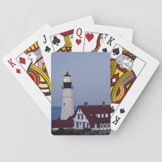 De V.S., Maine, Portland, Kaap Elizabeth, Pokerkaarten