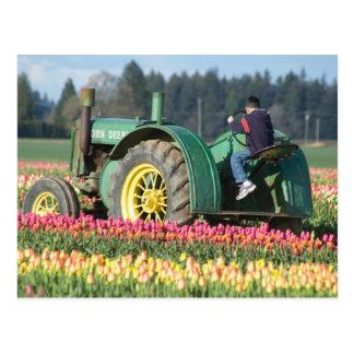 De V.S., Oregon, Woodburn, de Houten Tulp van de Briefkaart