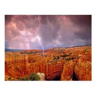 De V.S., Utah, het Nationale Park van de Canion Briefkaart