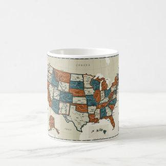 De V.S. - Vintage Kaart Koffiemok
