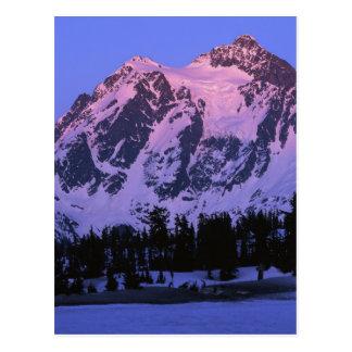 De V.S., Washington, Mt. Shuskan in de Cascades Briefkaart