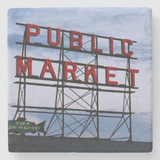 De V.S., Washington, Seattle, de Markt van de Stenen Onderzetter