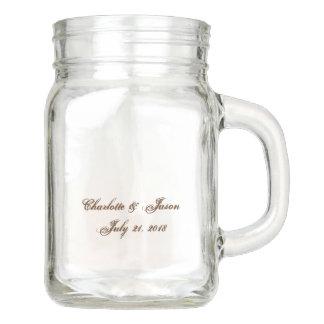 De Vaas van het Glas van de Drank van de Kruik van Mason Jar