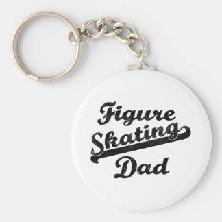 De Vaders van Giftware van de Papa van Basic Ronde Button Sleutelhanger