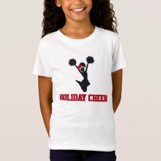 De vakantie juicht het Ontwerp van Kerstmis toe T Shirt