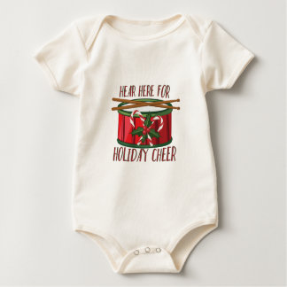 De vakantie juicht toe baby shirt