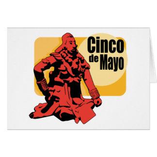 De Vakantie van Cinco DE Mayo Wenskaart