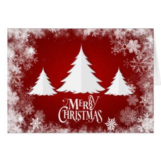 """De Vakantie van Kerstmis de Bomen - van """"Vrolijke Briefkaarten 0"""