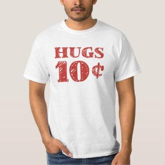 De Valentijnsdag koestert 10 Centen T Shirt