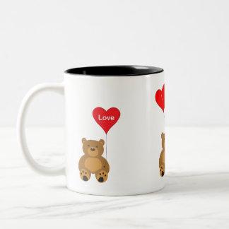 De Valentijnse Mok van Teddy en van de Liefde van
