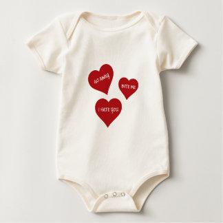 De Valentijnskaarten van de haat Baby Shirt