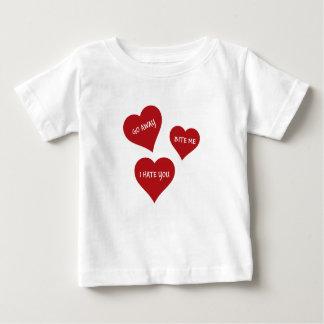 De Valentijnskaarten van de haat Baby T Shirts