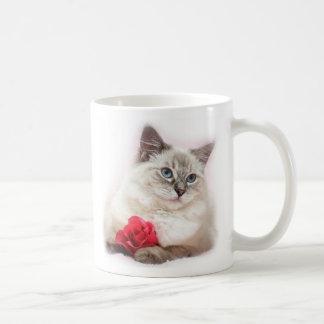 De valentijnskaartmok van Ragdoll Koffiemok
