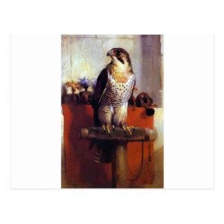 De valk door Edwin Henry Landseer Briefkaart