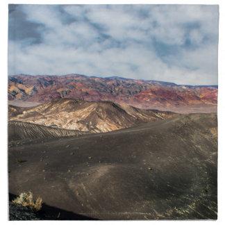 De Vallei van de Dood van de Krater van Ubehebe Servet