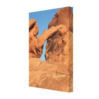 De Vallei van de Rots van de boog van Brand Canvas Afdrukken