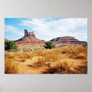 De Vallei van het monument, Arizona 10 Poster