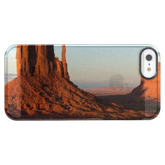 De vallei van het monument, Colorado Doorzichtig iPhone SE/5/5s Hoesje