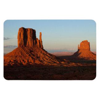 De vallei van het monument, Colorado Magneet