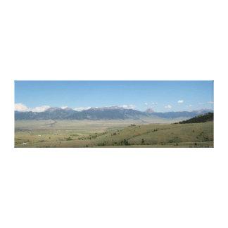 De Vallei van Madison, Montana Canvas Afdruk