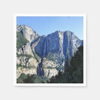 De Vallei van Yosemite van de Sleep van Vier Mijl Papieren Servet